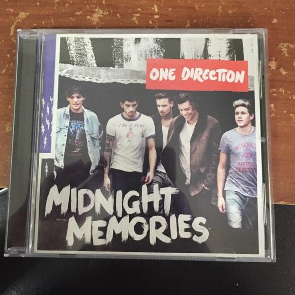 ONE DIRECTION MIDNIGHT MEMORIES ALBUM CD