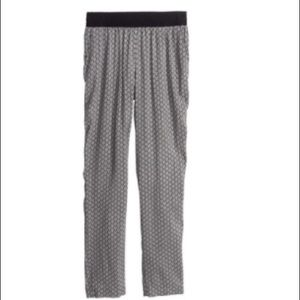 H&M divided chevron print trousers