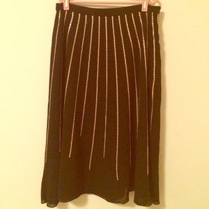 Apostrophe Dresses & Skirts - Black and gold skirt