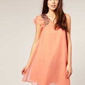 73bb5a0379a ASOS Dresses - Vero Moda embellished one shoulder dress