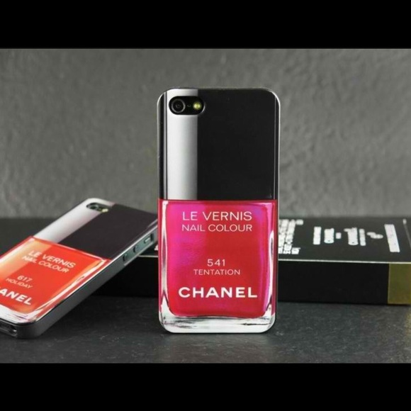 Accessories | Chanel Nail Polish Phone Case For IPhone 6 Plus | Poshmark