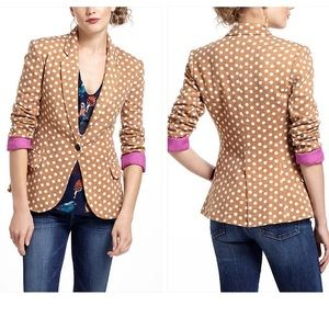 Host Pick 10/31Anthropologie Dotty-Knit Blazer