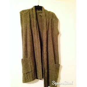 Woven winter vest