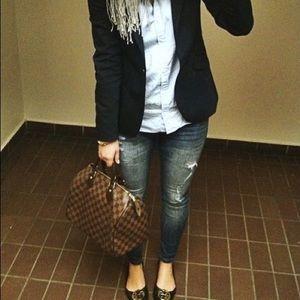 Black LeSuit Blazer Size 4