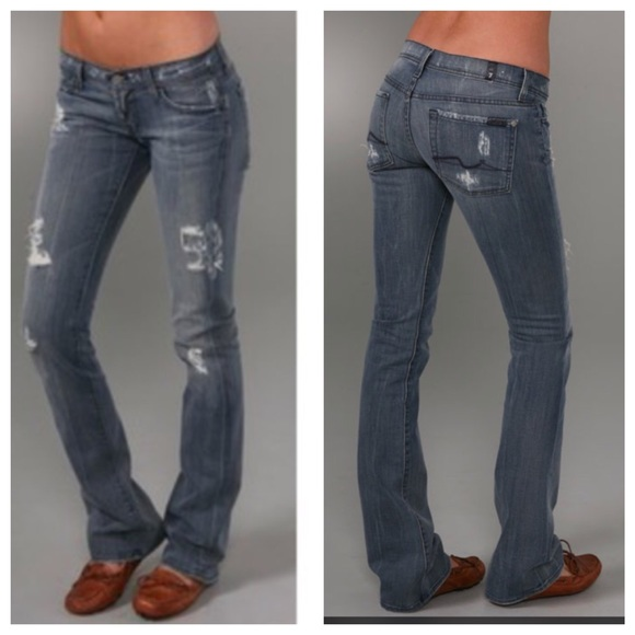 94% off 7 for all Mankind Denim - 🍓SOLD IN BUNDLE🍓7 For All ...
