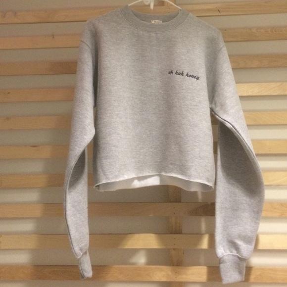 Brandy Melville Sweaters Uh Huh Honey Sweater Poshmark