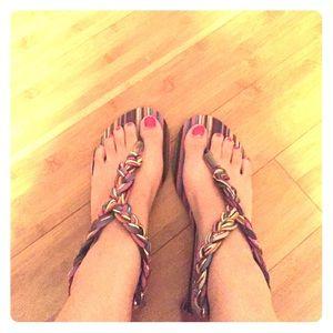 Sandals Multicolored Rasolli