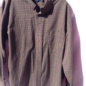 Van Heusen Other - Men's Button up long sleeve shirt Van Heusen XL
