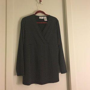 Tops - BOGO🙀😻Polka dot pregnancy style/empire waist 💕