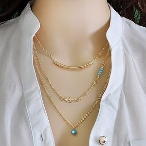 Jewelry - Cute 3 layered necklace