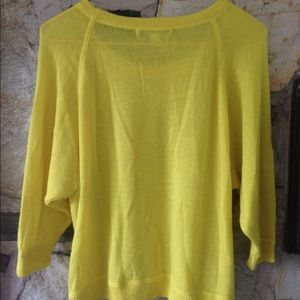 Forever 21 Sweaters - Bright yellow F21 loose knit sweater. Sz small