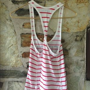 Abercrombie & Fitch Tops - Abercrombie + Fitch striped twisted tank. Sz xs