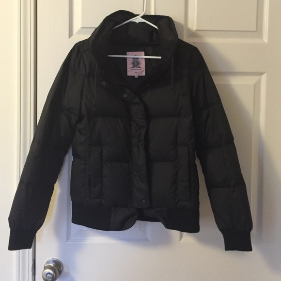f445c5bcadb4 Juicy Couture Jackets   Blazers - Black Juicy Couture puffer jacket