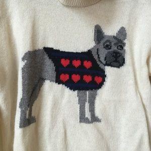 50% off C. Wonder Sweaters - C wonder FRENCH bulldog frenchie sweater EUC fro...