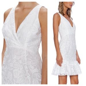 Marchesa Dresses & Skirts - Marchesa White Lace Dress New W/ Tags