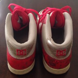 DC Shoes - DC Skateboard Leather Sneakers
