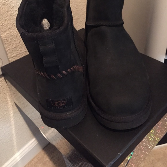 ea9c45e81fe Ugg men's Deco mini Boots sz 11 black