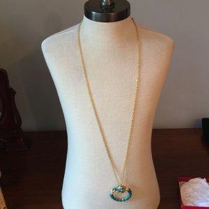 Kenneth Jay Lane Jewelry - Kenneth J. Lane Monocle Necklace!