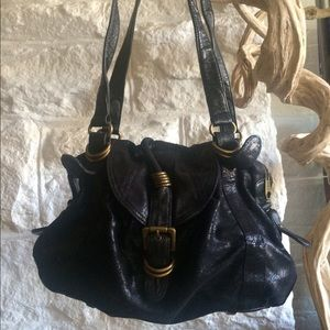 Matt & Nat black shoulder bag.
