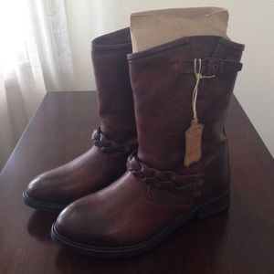 H by Hudson Shoes - H by Hudson Albion Biker Boots