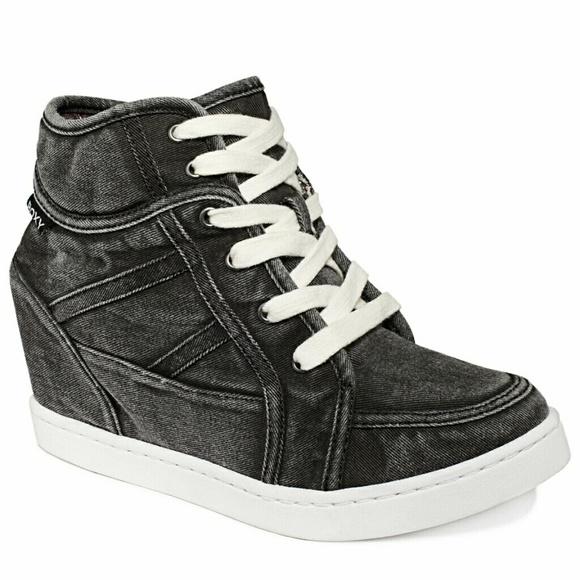 Roxy Shoes   Alexa Wedge Sneakers
