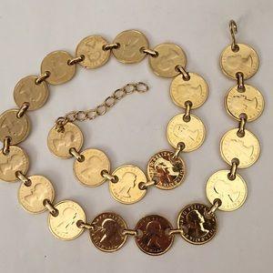 Accessories - 💕HP💕Gold Coin Belt
