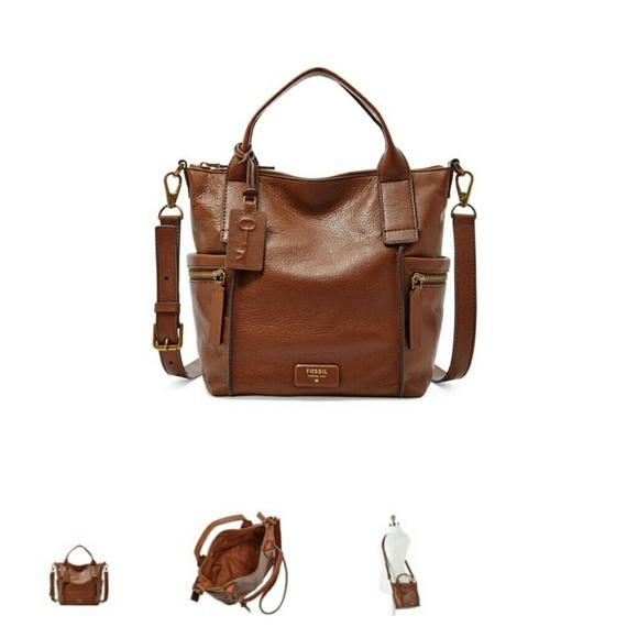 49% off Fossil Handbags - Fossil Emerson medium satchel from ...