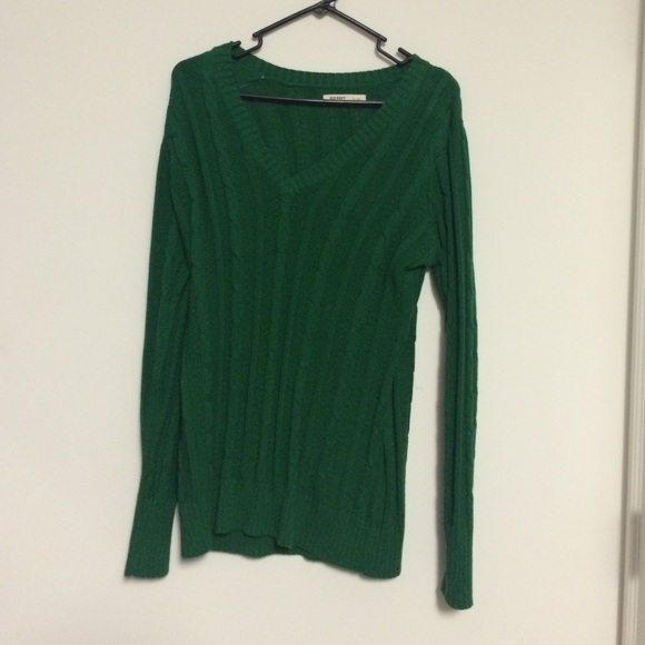 64% off Old Navy Sweaters - Old navy green sweater size large from ...