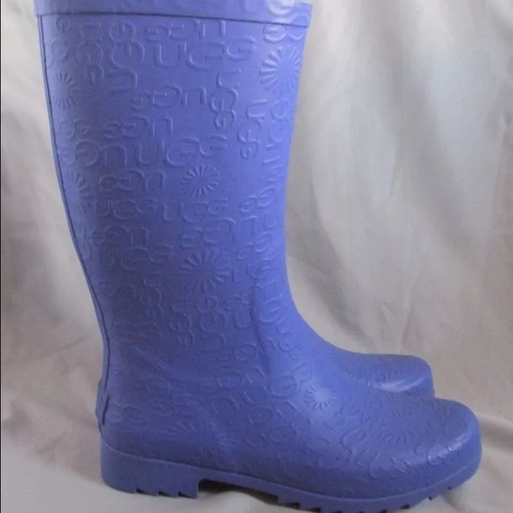 7d5a185c9b1 💜For princessbell•UGG PURPLE RAIN-BOOTS, SIZE 6💜