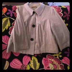 Grey swing jacket sz m