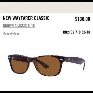 Tortoise New Wayfarer Classic Ray-Ban Sunglasses
