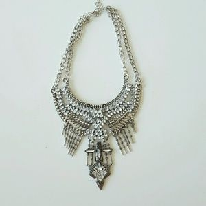 Jewelry - Boho Crystal Statement Necklace insp by Dylanlex