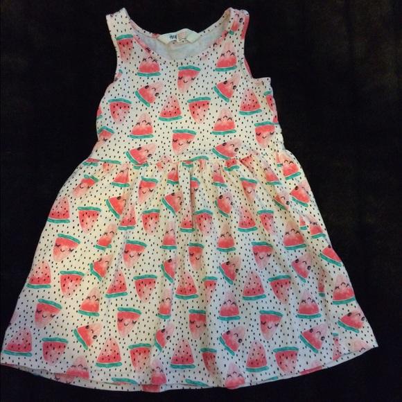a2ac9cc2899d H&M Dresses   Watermelon Kids Dress   Poshmark