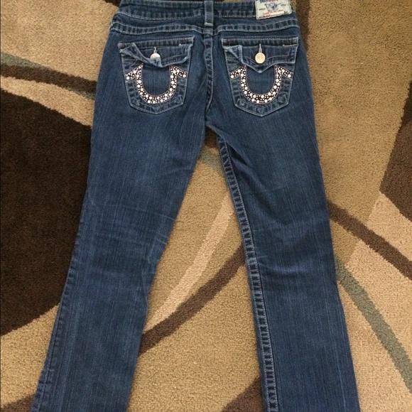1adddafa4 True Religion Bedazzled Jeans Size 26. M 560afb407fab3a452d01e7b7