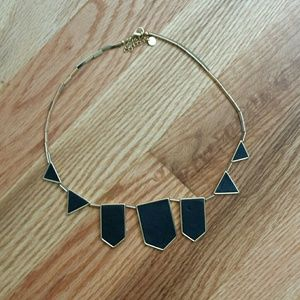 House of Harlow 1960 Jewelry - House of Harlow 1960 Station Leather Necklace