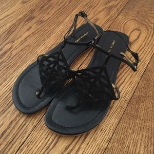 Cynthia Vincent Ankle Strap Sandals