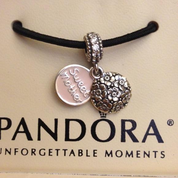 Pandora Jewelry Sweet Mother Authentic CharmJared Poshmark