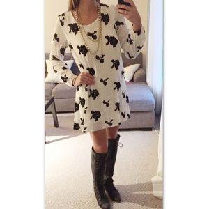 Macy's Dresses & Skirts - HP! Free Flower Bohemian Loose Tunic Dress