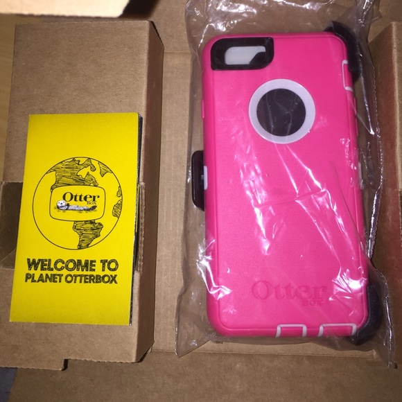 san francisco 0b442 ab619 Pink otter box for iPhone 6 or iPhone 6s