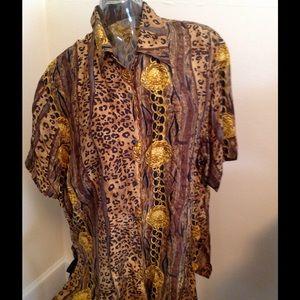 Vintage - Express  Silk Blouse⭐️