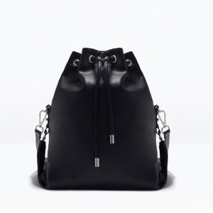 Zara Handbags - Zara convertible bucket bag