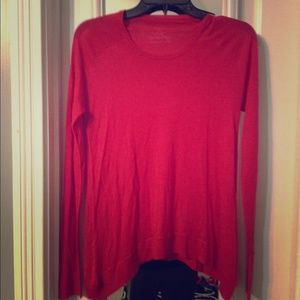 Cashmere fall sweater-bright like autumn leaves!!