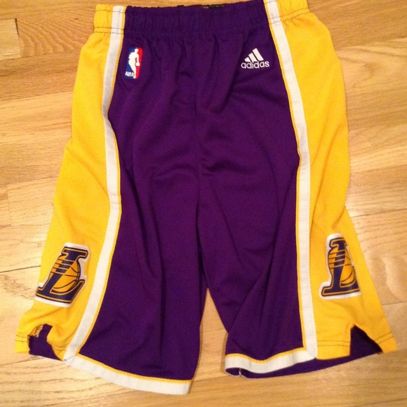 Adidas Other - NBA Lakers basketball shorts 7ab4cb007d1d