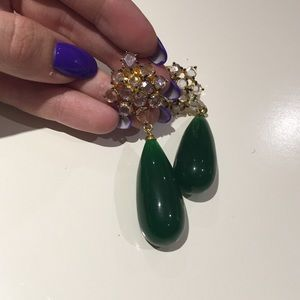 Jewelry - Green earrings