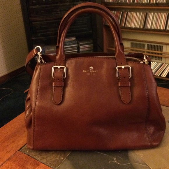 46% off kate spade Handbags - Authentic Kate Spade brown leather ...