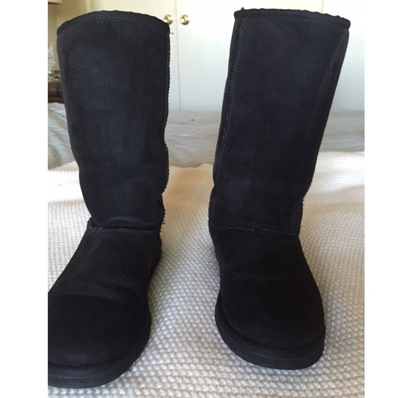 Ugg Boots Tall Black 6