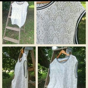 Tops - JCP top...nwot szx large