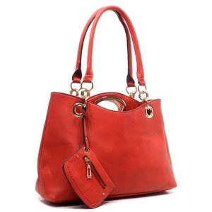 Handbags - Fashion 2-in-1 Shoulder Bag and Tote Bag