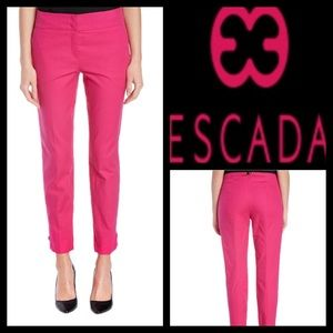 Escada Pants - $ Hot Pink Escada Thesis ankle Pant