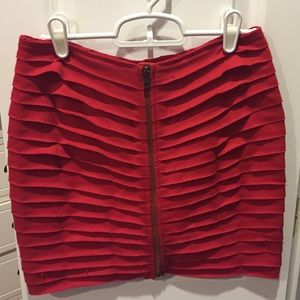 Urban Outfitters Silence + Noise Zip Skirt